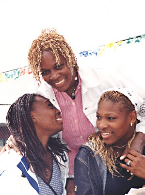 Venus, Serena and Mom